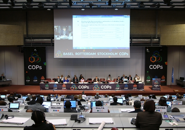 Elections during BC COP-12, RC COP-7 and SC COP-7