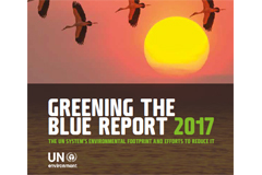 "BRS Secretariat's environmental performance featured in UN-wide ""Greening the Blue"" Report"
