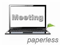 Paperless meeting
