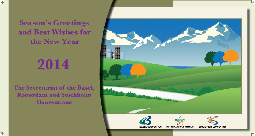 Season's Greetings and Best Wishes for the New Year 2014