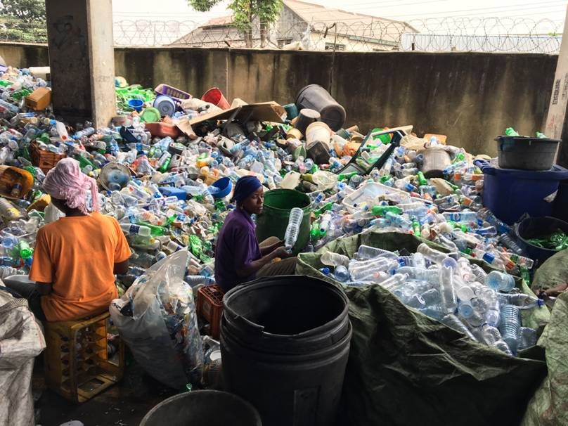 Community-based household waste collection and sorting business